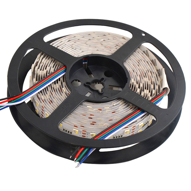 Dual Row Super Bright RGBW 4in1 Flexible LED Strip Lights, DC24V 5050SMD 600LEDs Waterproof Optional LED Tape Lights