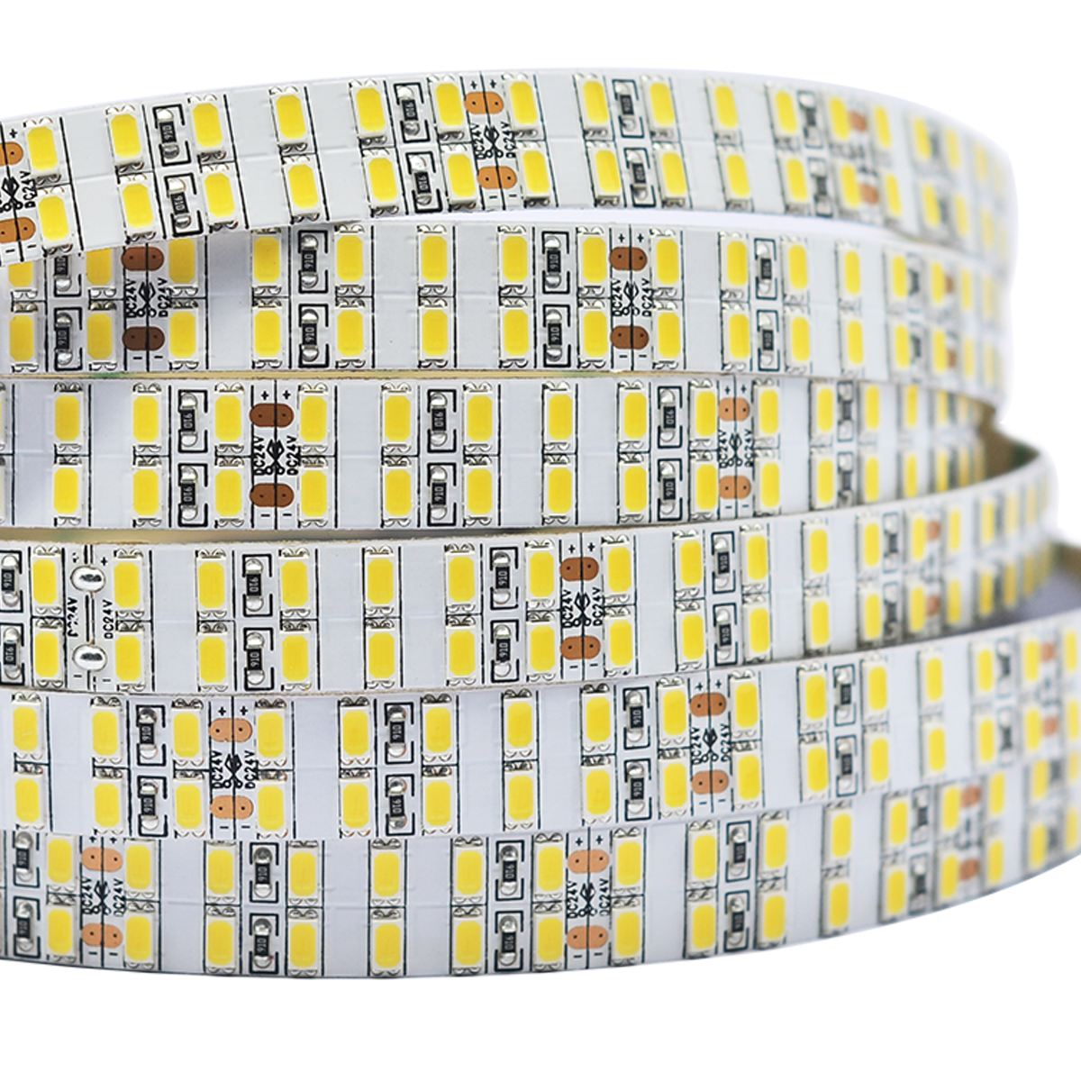 Single Row Series DC12V 5630SMD Parallel column 300LEDs Flexible LED Strip Lights Home Lighting 16.4ft Per Reel By Sale