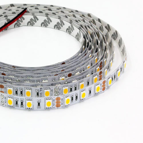 Color Temperature Pure White+Warm White Super Bright Series DC12&24V 5050SMD 300LEDs Flexible LED Strip Lights 16.4ft Per Reel By Sale
