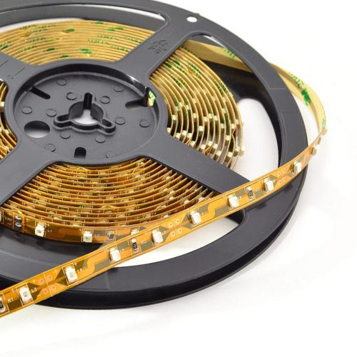 Single Row Series DC12/24V 2835SMD 300LEDs Flexible LED Strip Lights Indoor Lighting 16.4ft Per Reel By Sale