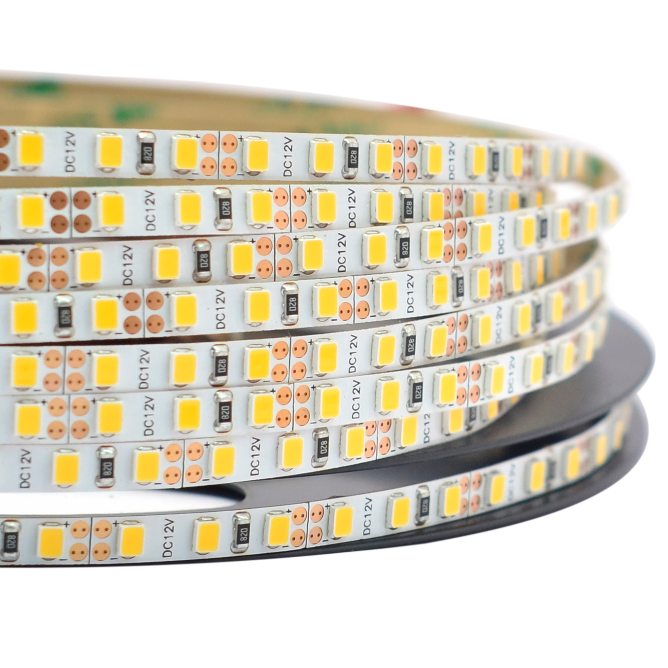 Single Row Narrow DC12/24V Series 2835SMD 600LEDs Flexible LED Strip Lights Indoor Lighting Width 5mm 16.4ft Per Reel By Sale