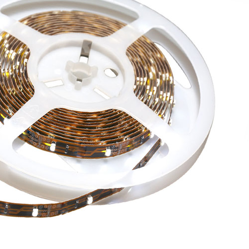 Single Row Series DC12V 3528SMD 150LEDs Flexible LED Strip Lights, Indoor Lighting Non Waterproof, 16.4ft Per Reel By Sale