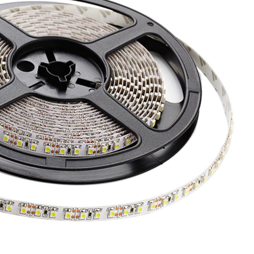 Single Row Series DC12V 3528SMD 480LEDs Flexible LED Strip Lights, Home Lighting, Non Waterproof, 16.4ft Per Reel By Sale