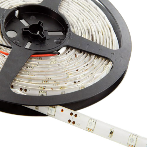 Single Row Series DC12/24V 5050SMD 150LEDs Flexible LED Strip Lights TV BackLighting 16.4ft Per Reel By Sale