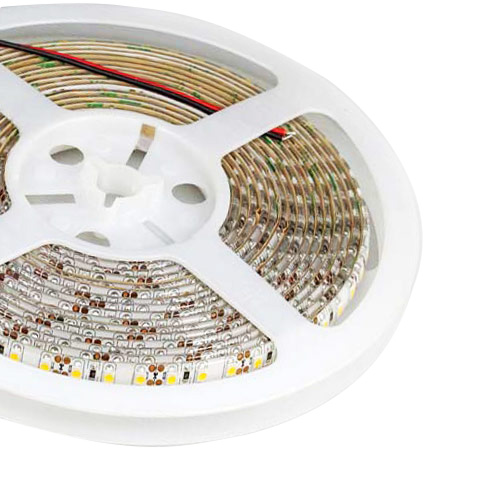Single Row Series DC12/24V 2835SMD 600LEDs Flexible LED Strip Lights Home Lighting Waterproof IP65 16.4ft Per Reel By Sale
