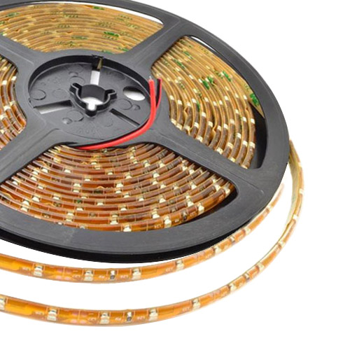 Single Row Series DC12V 3528SMD 300LEDs Flexible LED Strip Lights, Home Lighting, Waterproof IP65, 16.4ft Per Reel By Sale