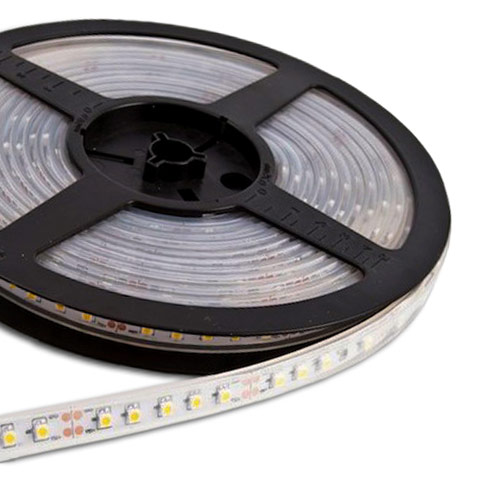 Single Row Series DC12V 3528SMD 600LEDs Flexible LED Strip Lights, Outdoor Lighting, Waterproof IP67, 16.4ft Per Reel By Sale