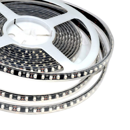 Single Row Series DC12V 3528SMD 600LEDs Flexible LED Strip Lights, Highest Level of Waterproof IP68, 16.4ft Per Reel By Sale