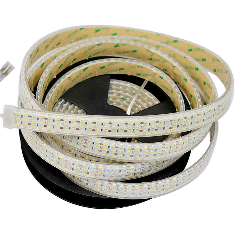 Triple Row Super Bright Series DC24V 3528SMD 1800LEDs Flexible LED Strip Lights, Waterproof IP65, 16.4ft Per Reel By Sale