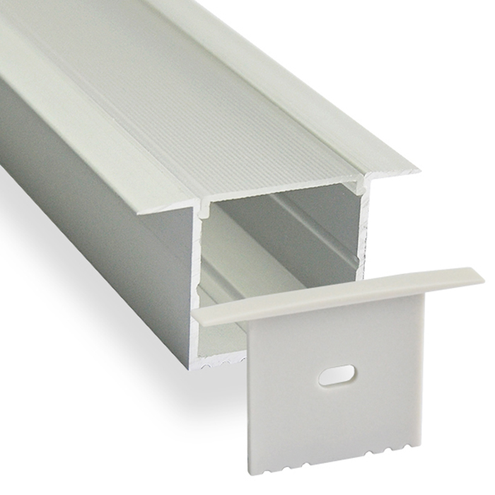 HL-BAPL017 Height 35mm High Power Recessed Extruded Aluminum Channel Profile Good heatsink For Width 30mm Ceiling and Wall LED Lights