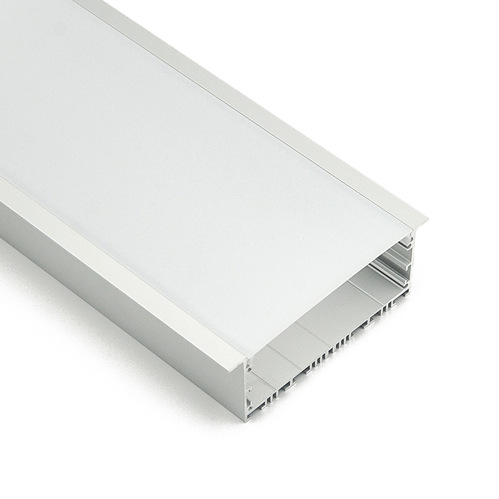 HL-A029 Aluminum Profile - Inner Width 89.7mm(3.53inch) - LED Strip Anodizing Extrusion Channel, For LED Strip Lights