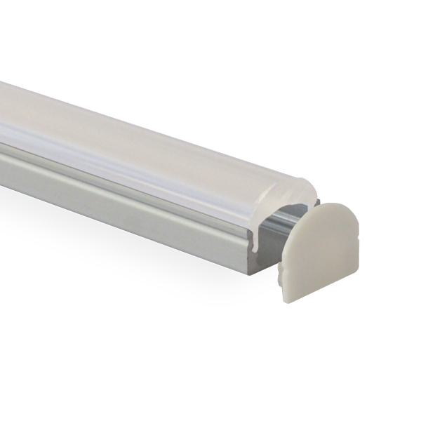 HL-BAPL002L-Height 13.7mm Recessed Extruded Aluminum Channel Profile with Lens 60 degrees Good heatsink For Width 11mm LED Flexible Strip Lights