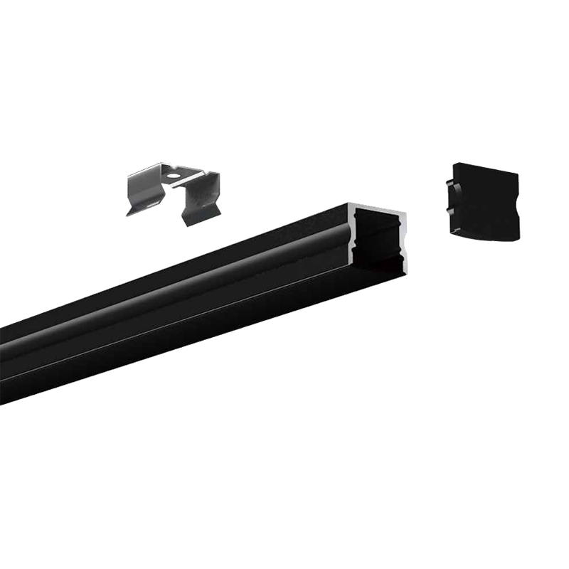 HL-BAPL004-Height 15mm Recessed Extruded Aluminum Channel Profile Good heatsink For Width 12mm LED Flexible Strip Lights