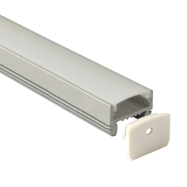 BAPL026 Aluminum Profile - Inner Width 20mm(0.78inch) - LED Strip Anodizing Extrusion Channel