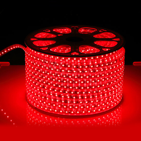 SMD5050 High Voltage 110&220V Color Change LED Strips, Waterproof IP67, 60LEDs Per Meter, 50&100 Meter (164&328ft) Per Reel By Sale