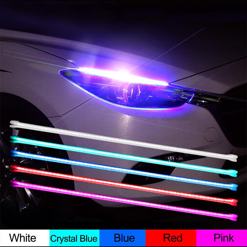 1M 12V WATERPROOF LED DECORATION LIGHTS CAR MOTORCYCLE DAYTIME LED STRIPS Red