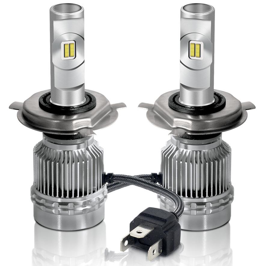 24V 60W per set Waterproof LED Car Headlight Bulb H7, H4