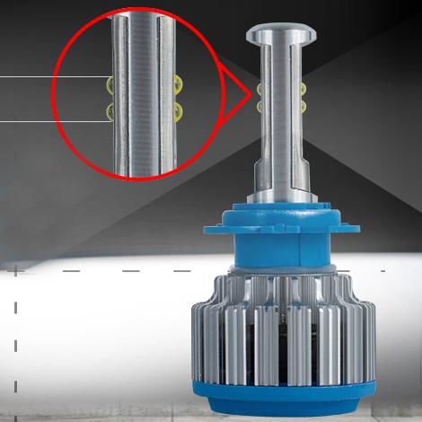 DC12V 35Watt Lens Waterproof LED Car Headlight Bulb H7 H4 H8