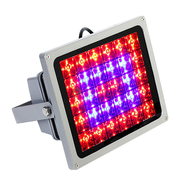 SMD-2838 LED grid plant lamp full spectrum band 18W 60W 90W 100W multi-meat greenhouse waterproof cast light
