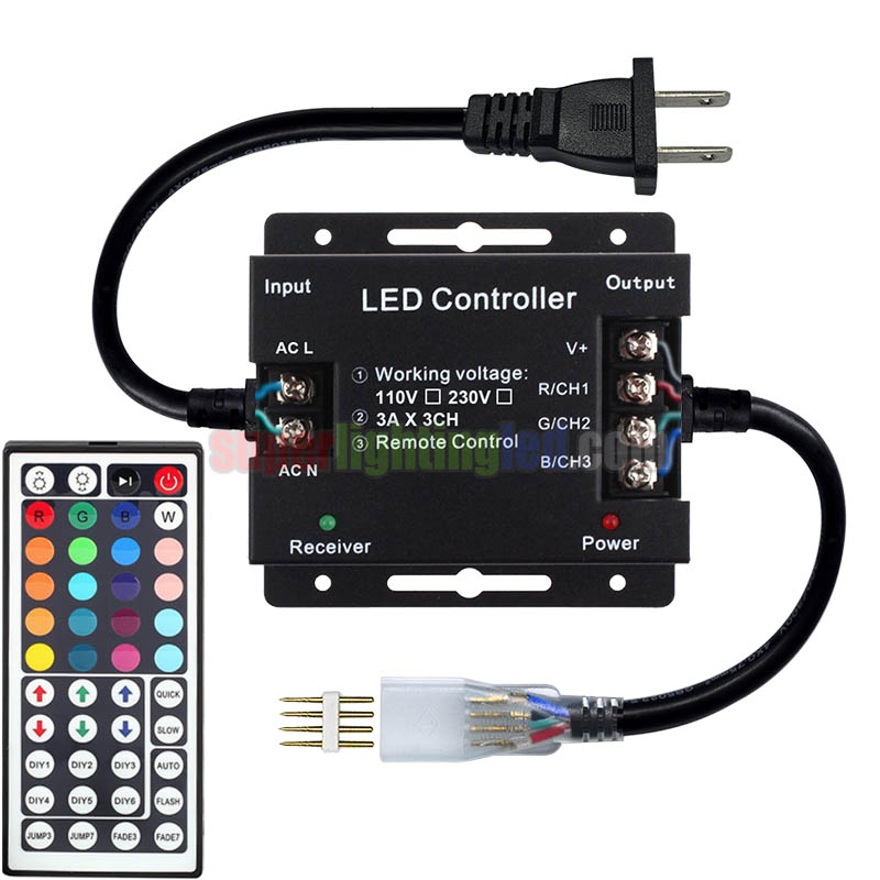 Ac110v 220v 1500w 44keys Ir Lled Controller Kit For Led Stage Lighting