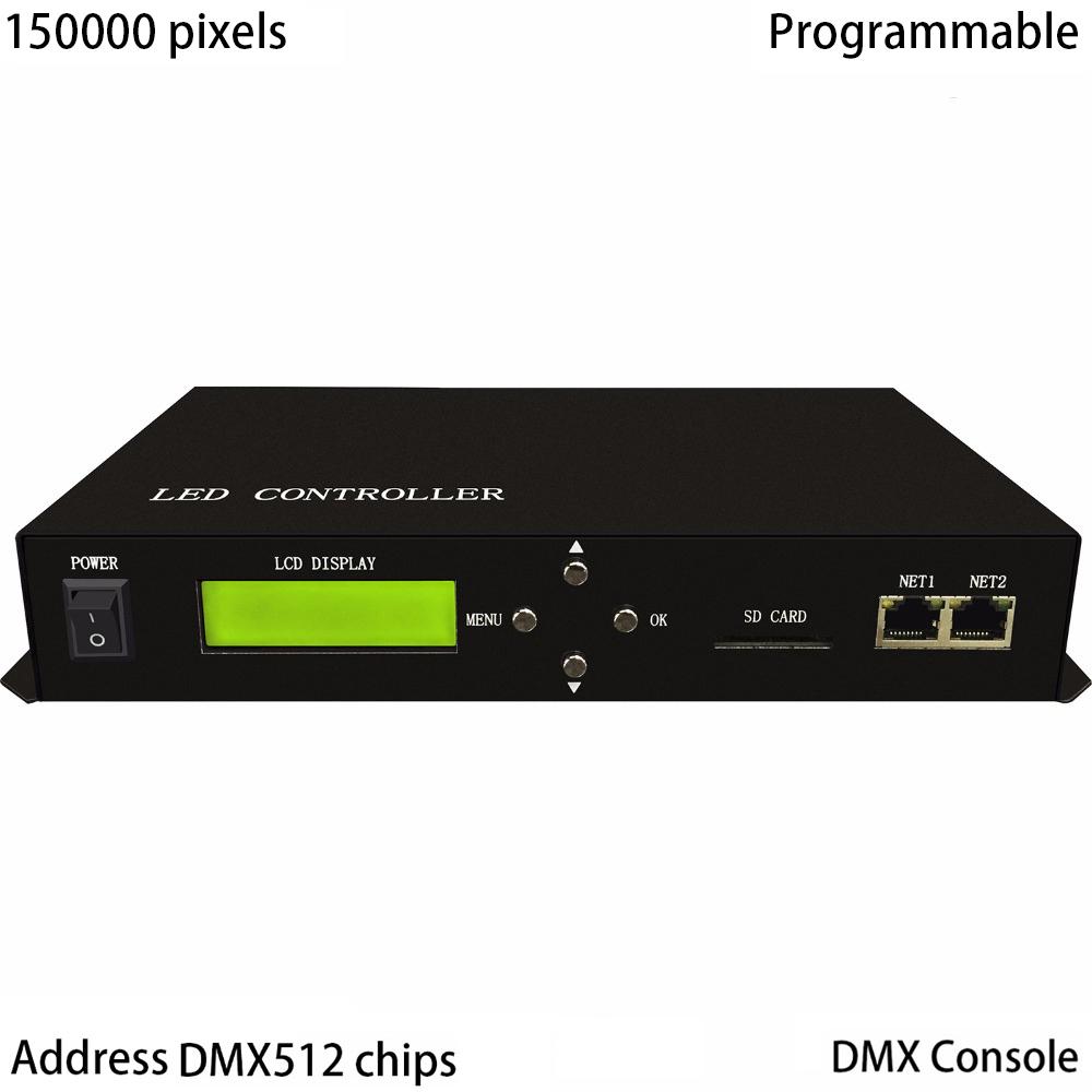 Dc5 24v Sp108e Wifi Led Addressable Rgb Spi Pixel