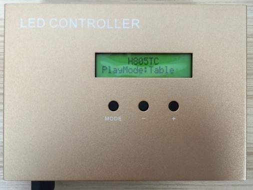AC220V LED RGB Controler full color timing master controller play