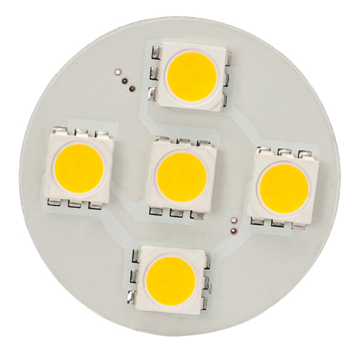 12V AC/DC, Extended Back-Pin T3 JC G4 LED Bulb, 1 Watt, 10W