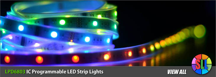 Lpd6803 Ic Programmable Led Strips
