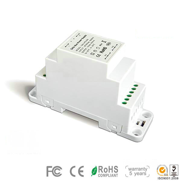 DA-PS-DIN 100-240V dimmer driver have short circuit , over-load protection applied for led lighting systems