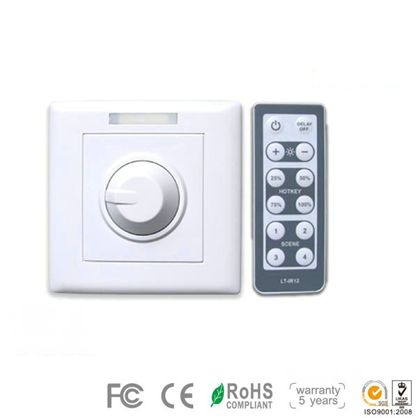 LT-3200-6A DC12~48V remote controller or manual dimming driver applied for adjusting the brightness of both low-power and hi-power