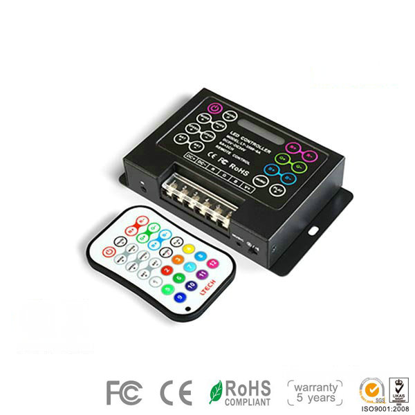 LT-300, 3CH RGB/DMX Controller, High-end LED Entire Synchronous Color Changes Controller for LED strips, 5 Years Warranty