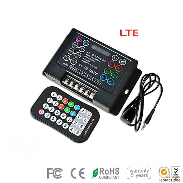 LT-3800-6A, LED RGB Strip Lights Controller, High-end 8A*3CH Controller for LED Lights