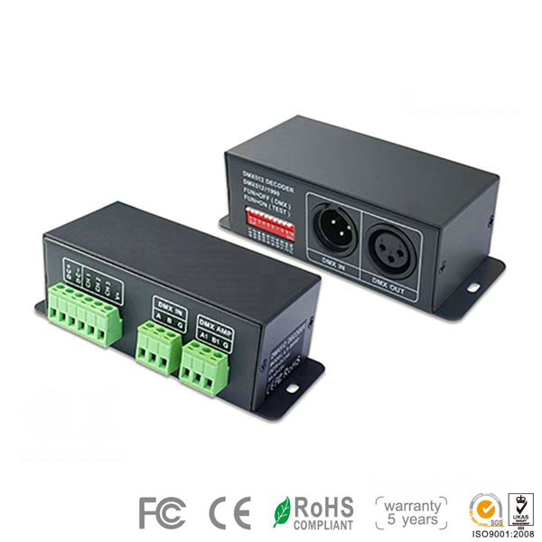 Lt 840 350 4ch cc dmx pwm decoder xlr 3 rj45 for led rope light lt 840 350 4ch cc dmx pwm decoder xlr 3 aloadofball Choice Image