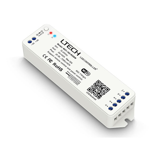 DC12-24V WiFi Controller WiFi-102-RGBW For LED Strip Light