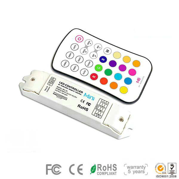 M6+M3-3A, RGB/RGBW Controller, Small Figure and Big Function Conventional Controller, High-end Controller for RGB Color Change Multic Color LED Strips Lighting, Warranty 5 Years