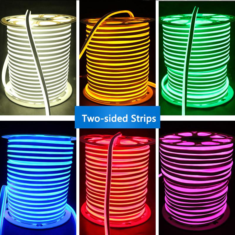 12v 24v 110v 220v high grade single color rgb color changing led neon flexible tube strip for. Black Bedroom Furniture Sets. Home Design Ideas