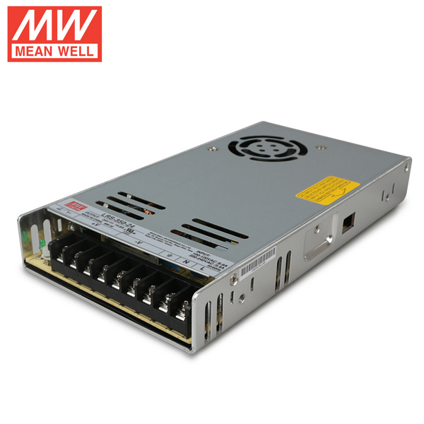 Mean Well  LRS-350-24  DC24V 350Watt 14.6A UL Certification AC110-220 Volt Switching Power Supply For LED Strip Lights Lighting
