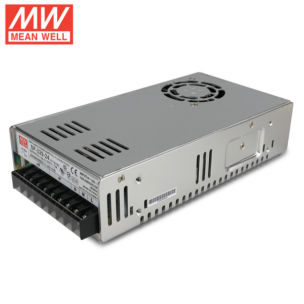 Mean Well  SP-320-24  DC24V 320Watt 13A UL Certification AC110-220 Volt Switching Power Supply For LED Strip Lights Lighting