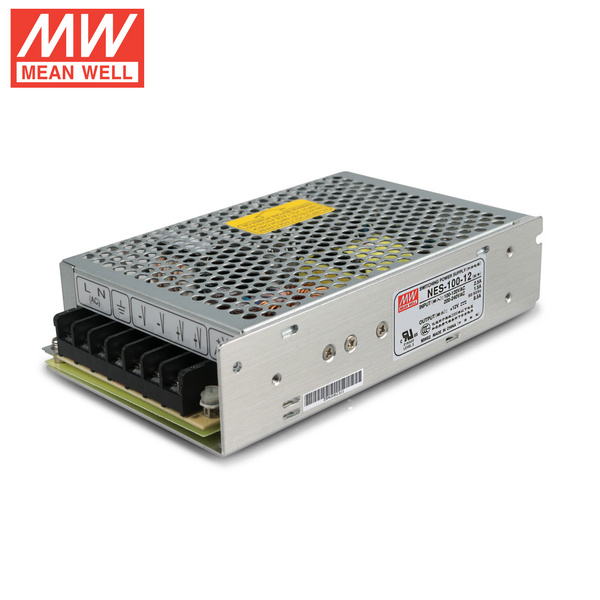Mean Well NES-100-12 DC12V 100Watt 8.5A UL Certification AC110-220 Volt Switching Power Supply For LED Strip Lights Lighting