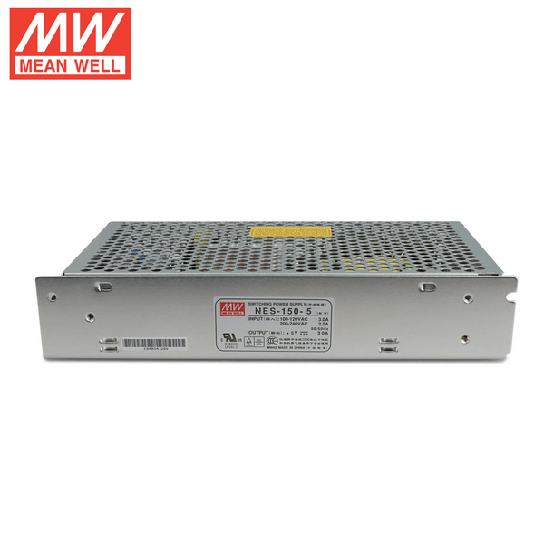Mean Well NES-150-5 DC5V 150Watt 30A UL Certification AC110-240 Volt Switching Power Supply For LED Strip Lights Lighting