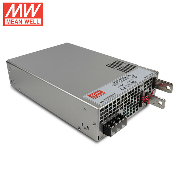 Mean Well RSP-3000-12 DC12V 3000Watt 250A UL Certification AC180~265 Volt Switching Power Supply For LED Strip Lights Lighting