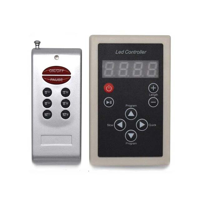 DC12-24V RGB Controller RF Remote Controller For Dream Color led strip