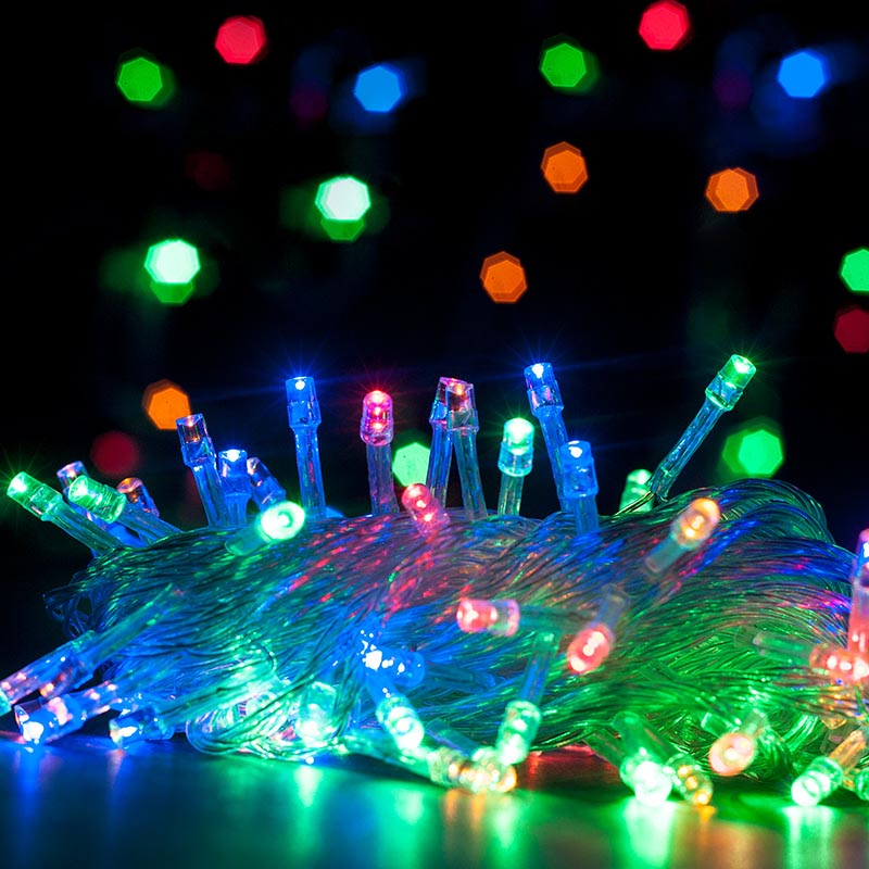 DC12V 33feet Waterproof Outdoor use LED Christmas Holiday String Lights