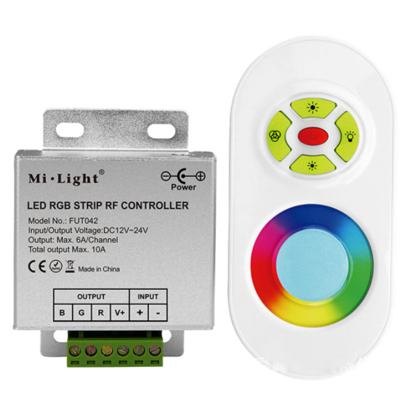 FUT042 433MHz RGB LED Strip Controller For led strip light technical details
