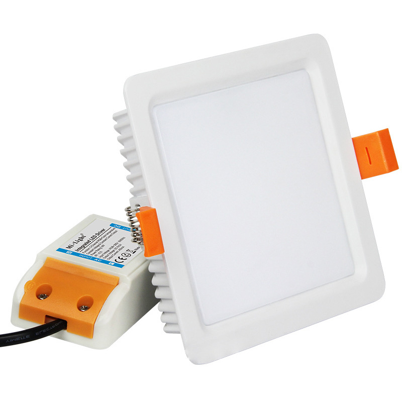 FUT064 9W RGB+CCT Square LED Downlight