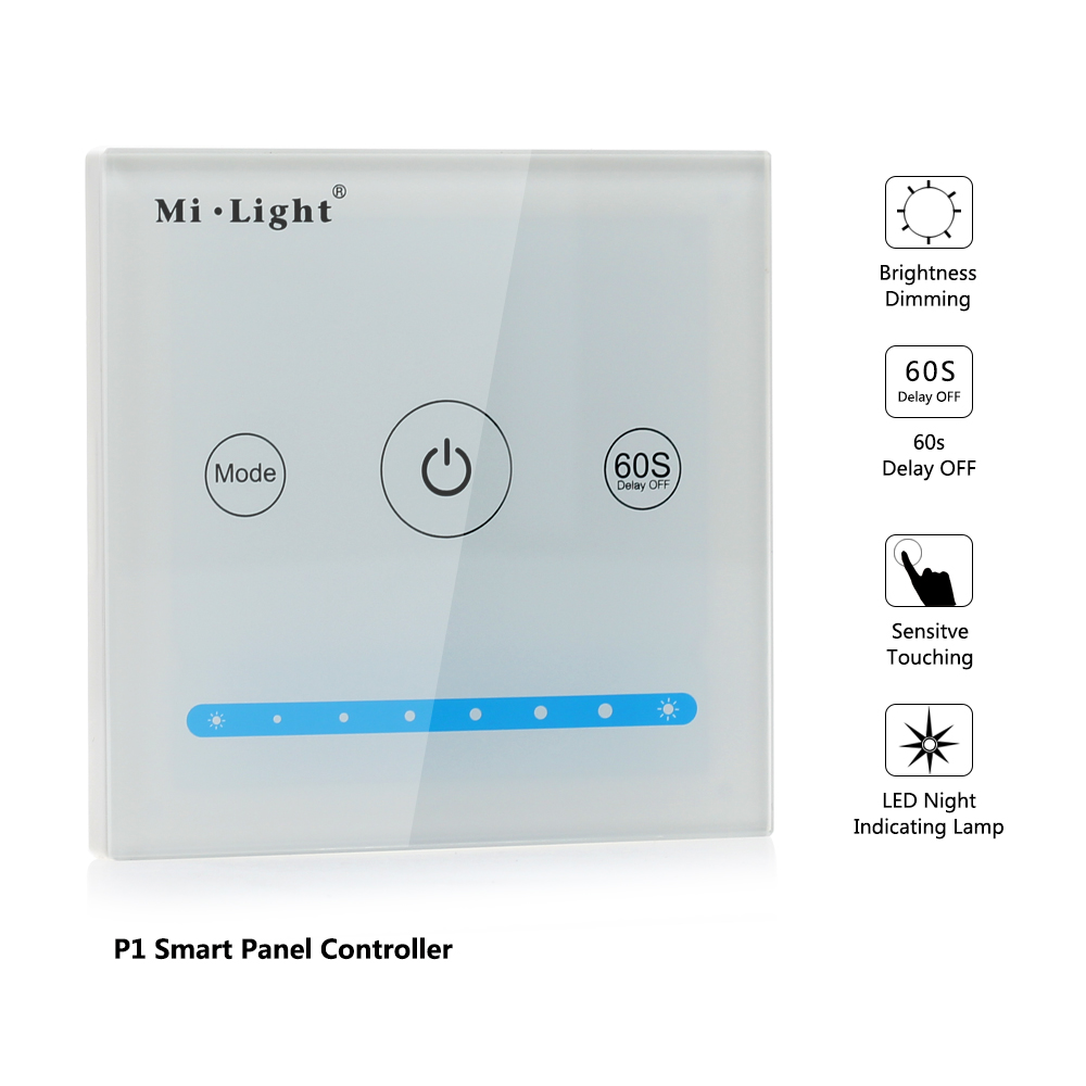 P1 LED Smart Panel Controller For Single color LED strip light