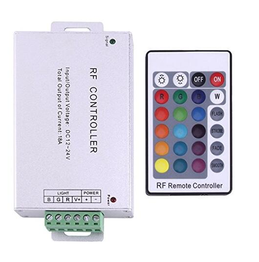 RF LED Remote Controller RF Remote Control Switch and Controller For Garden pool decoration lighting