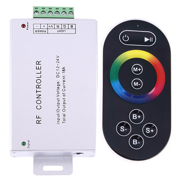 SX-024RF RGB DC12-24V 8key to touch the controller For led strip light for sale