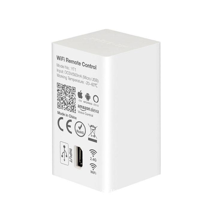 YT1 WiFi Remote Control, Amazon Alexa Voice Control, WIFI