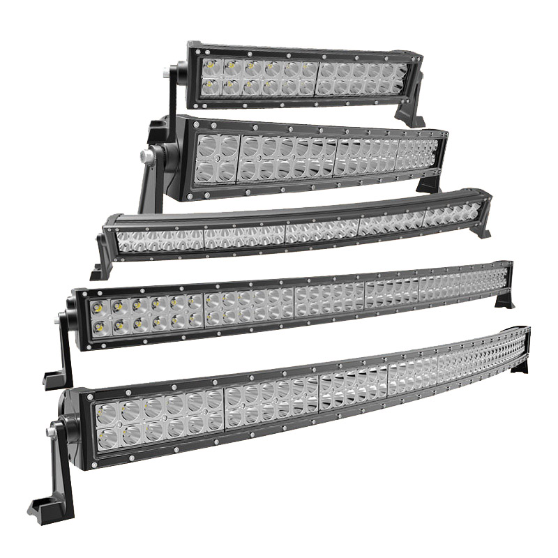 49-110CM single row super bright led offroad bar for forklift,trains,boat,bus,and tanks